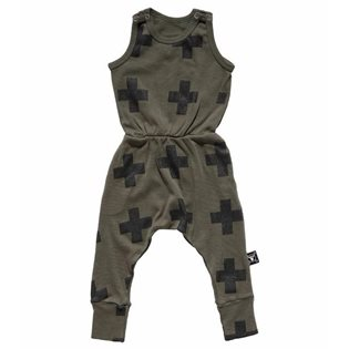 Nununu New Plus Romper - Olive