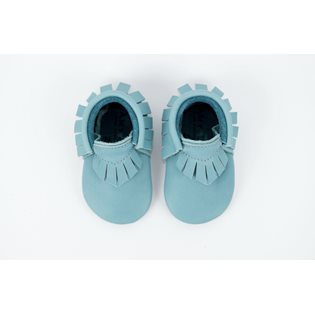 Amy & Ivor Moccasin - Blue