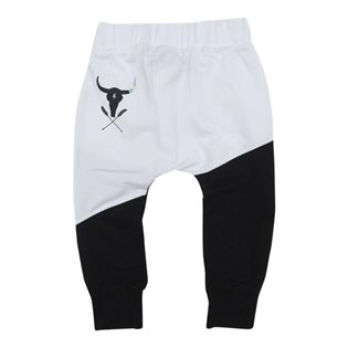 Lounge Pants - Black & White