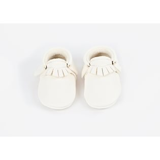 Amy & Ivor Moccasin - White