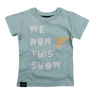 We Run This Show Tee - Mint