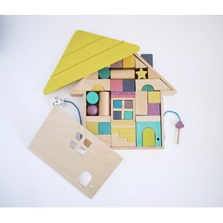 Kiko+ Tsumiki House Building Blocks
