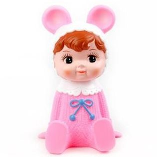 Lapin Woodland Doll Money Box - Pink