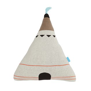 Wigwam Cushion - Blue