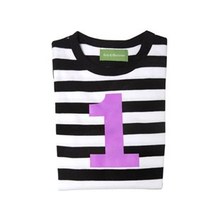 Black & White Stripe Top With Age