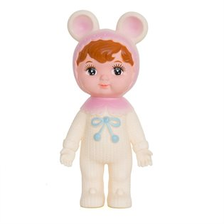 Lapin Woodland Doll - Milky White & Pink