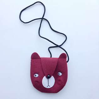Bear Bag - Marsala