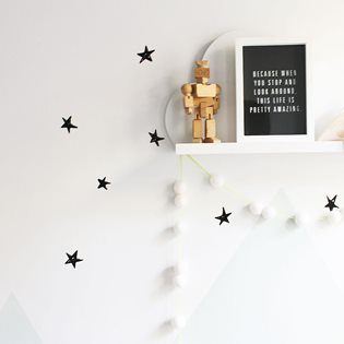 Wee Cals - Scribble Stars Wall Stickers