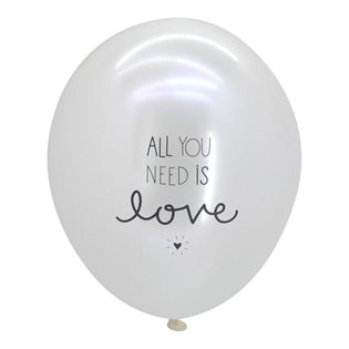 Text Balloons - All You Need Is Love