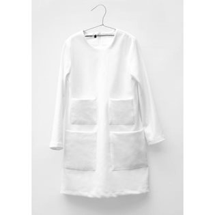 Motoreta Leena Dress - White