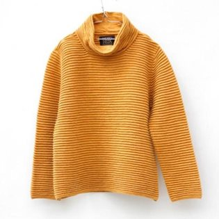 Motoreta Turtleneck Sweater - Naples Yellow