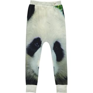 Baggy Leggings - Panda Print