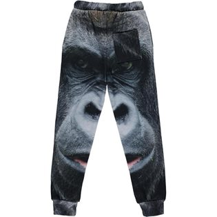 Sweat Pants - Gorilla Print