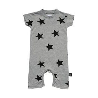 Nununu Star Playsuit - Heather