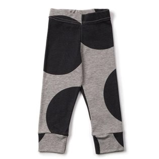 Nununu Circle Leggings - Heather Grey