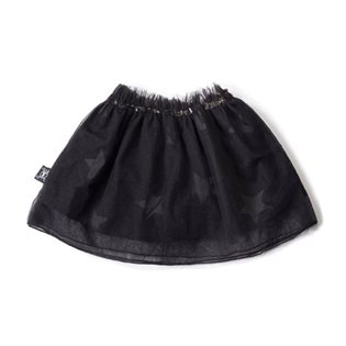 Nununu Tulle Star Skirt - Black
