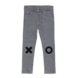 Beau Loves Skinny Jeans - Washed Grey XO