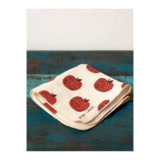 Bobo Choses Maison Baby Towel Apple