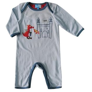 Dragon and Castle Babygrow