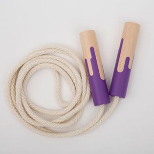 Skipping Rope - Grape Popsicle