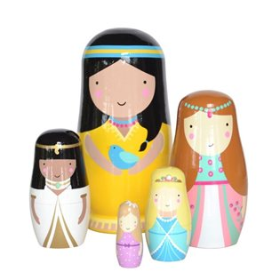 Sketch Inc Nesting Dolls Princess