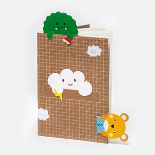 Cloud Bookmark Notebook