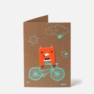 Bike Ride Card