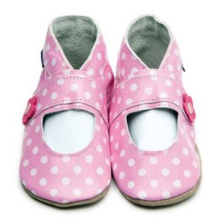 Mary Jane Pink Polka Dot Shoe