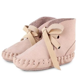 Pina Booties - Nubuk Powder & Nubuk Cream