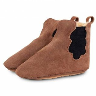 Cloud Lining Booties - Suede Teddy Brown