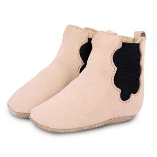Cloud Lining Booties - Nubuk Powder
