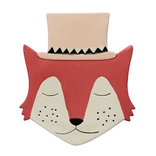 Foxy - Ceramic Wall Hanging