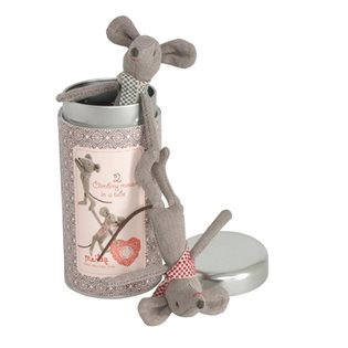 Maileg Tin Box Mice - Climbing Mice