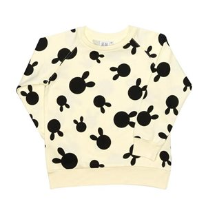 Beau Loves Raglan Jumper - Rabbit Dots