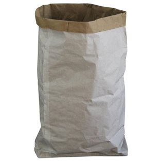 Reusable White Paper Sack - Storage