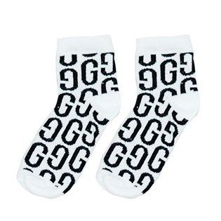 The GG Ankle Sock - White