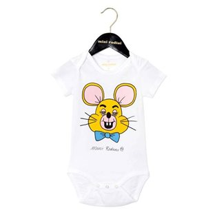 TT Mouse SP Short Sleeve Body - White