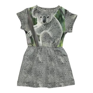 Robbies Dress - Koala Print