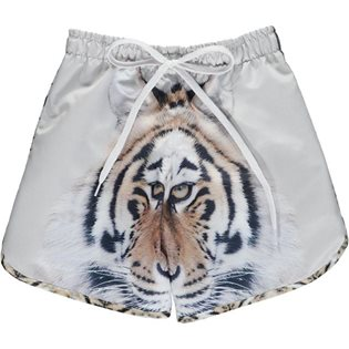 Swim Shorts Long - Tiger Print