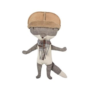 Wolf With Hat - Maileg Soft Toy