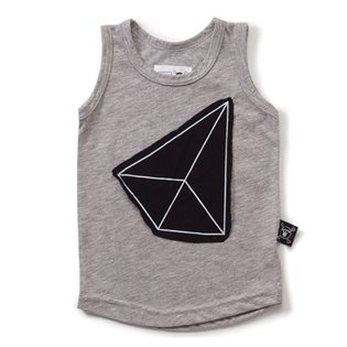 Nununu Geometric Patch Tank Top