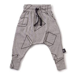 Nununu Geometric Baggy Pants