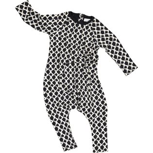Mountain Onesie - Washed Black