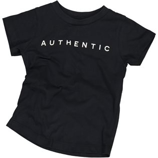 Authentic Tee - Washed Black