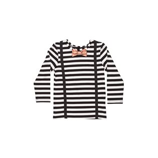 Woody T-Shirt - Black & White Striped