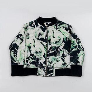 Funghi Emerald 2-Way Bomber Jacket