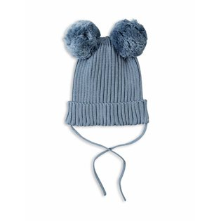 Mini Rodini Light Blue Ear Hat