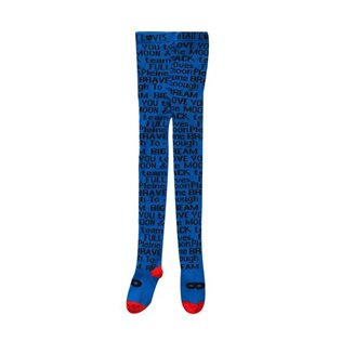 Staring At Stars Knit Tights - Blue