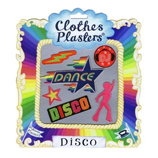 Disco - Clothes Plasters Set
