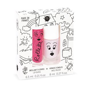 Nailmatic Duo kids Fairytales - Raspberry/Polly